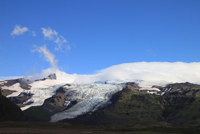 Glacier de SVARTIFOSS.