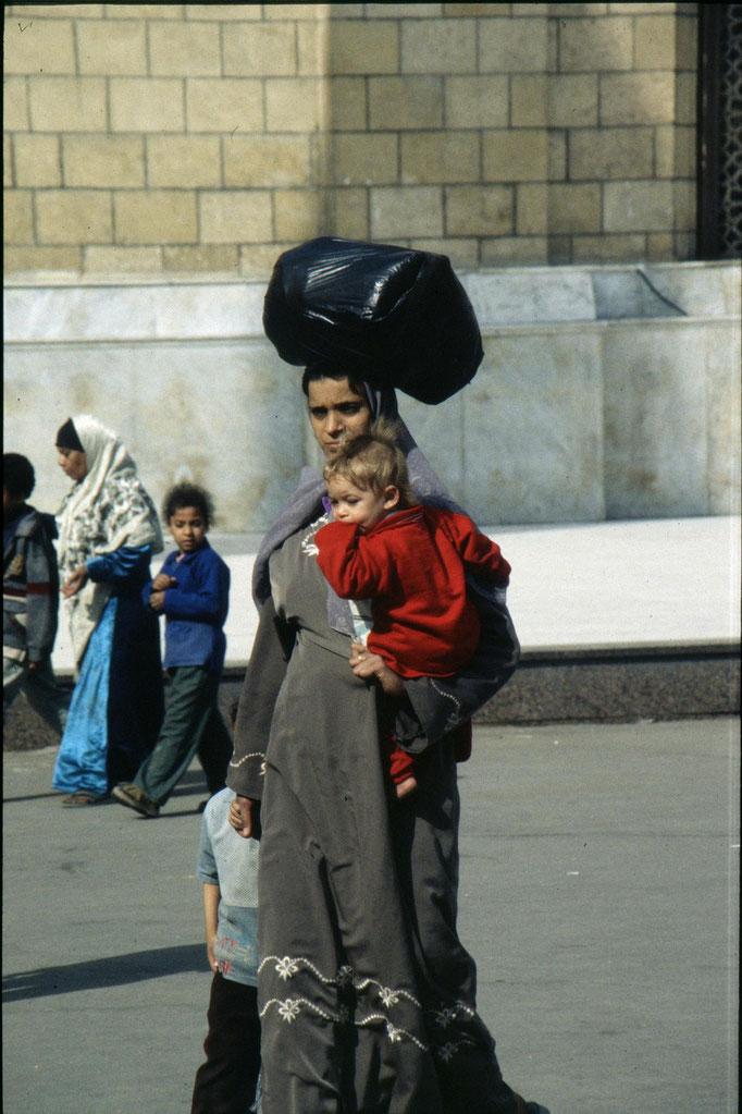 Dans les rues du CAIRE.
