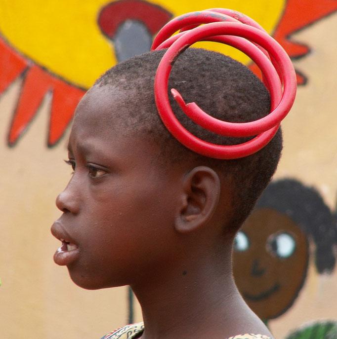 Hassan à l'orphelinat de BOBODIOULASSO.
