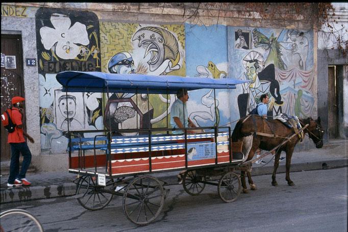 Transport en commun à LA HABANA.