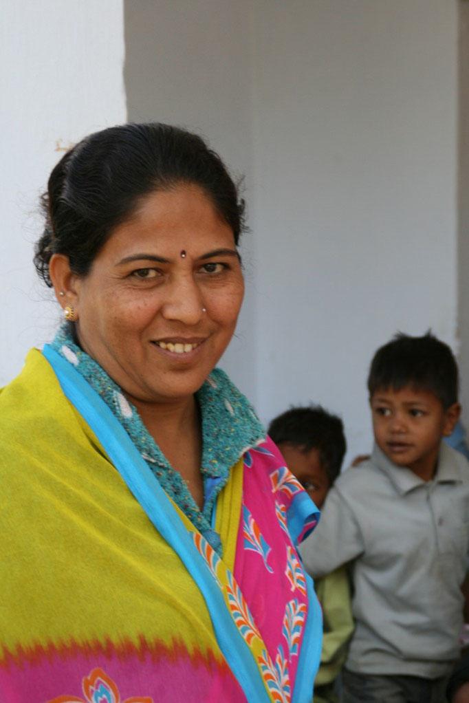 Institutrice dans une école près de GWALIOR.
