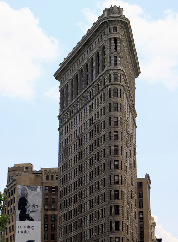 The Flatiron Building - fer à repasser.