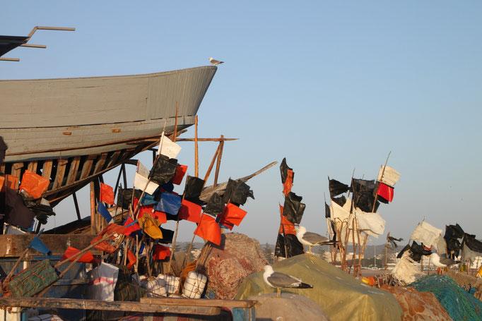Port d' Essaouira. MAROC