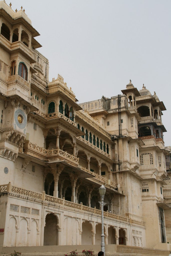 Le palais du Maharaja. UDAÏPUR.