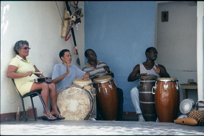 Groupe de musique à  CIENFUEGOS.