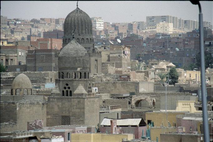 Le cimetière des morts et des vivants au CAIRE