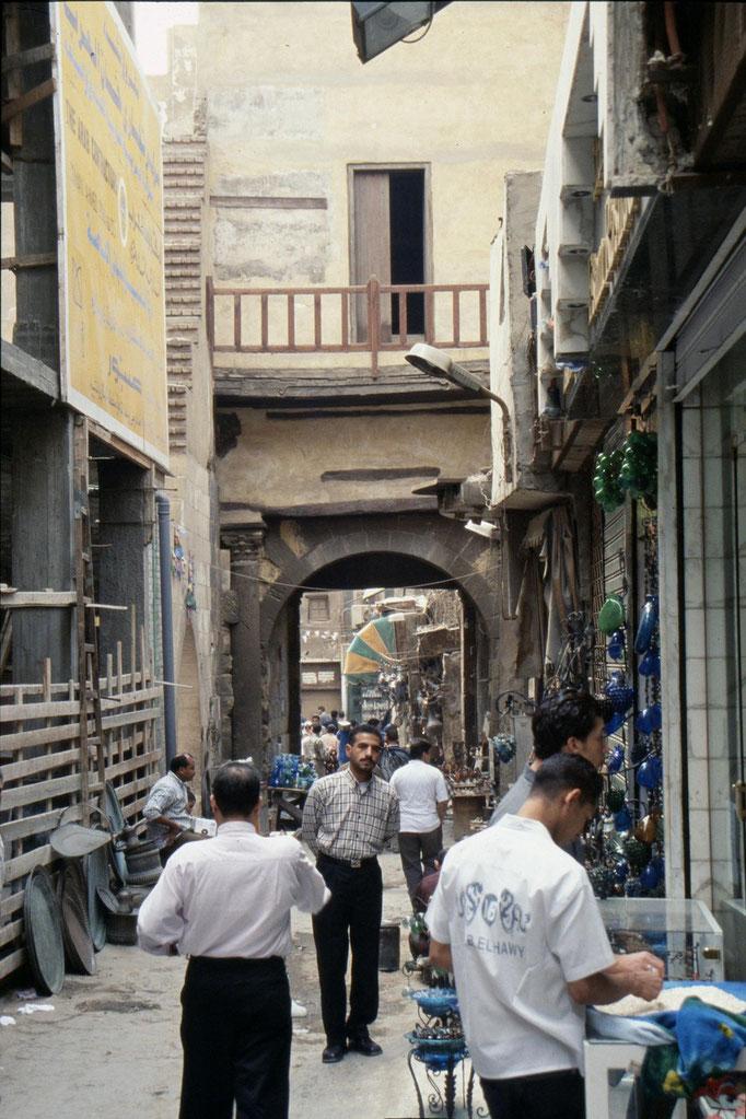 Dans les ruelles du CAIRE.