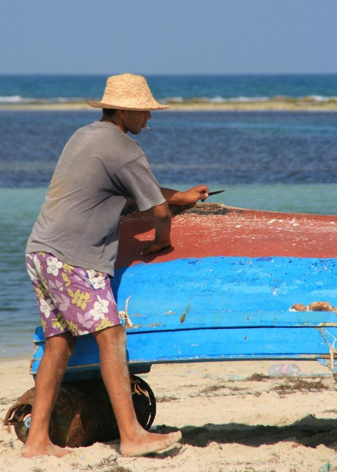 Pêcheurs à SIDI JIMOUR.