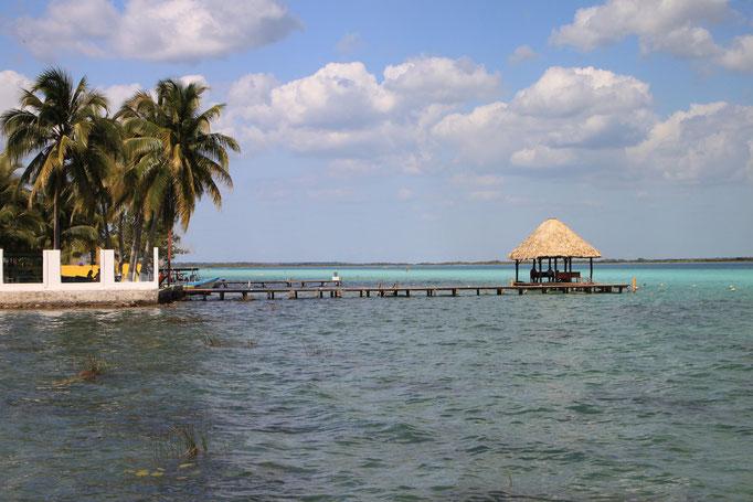 Lagune de BACALAR.