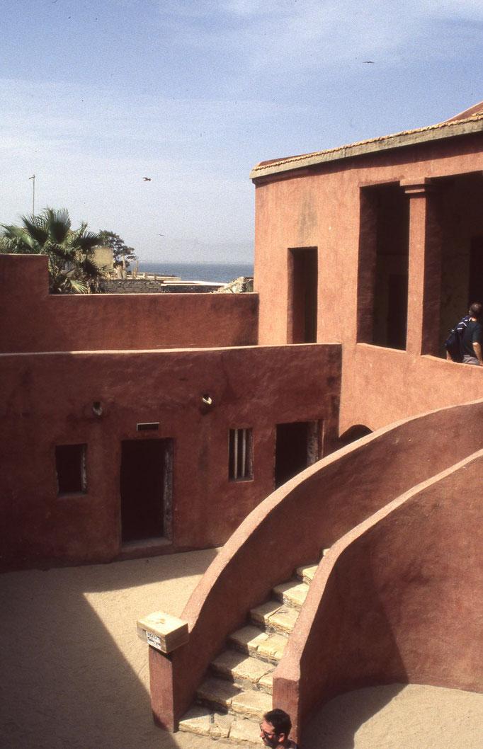 Cellules de la maison aux esclaves à GOREE.