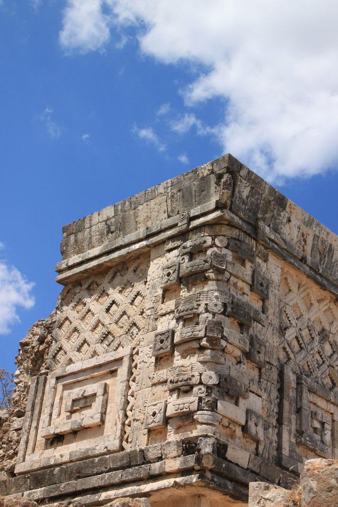 Site Maya à UXMAL.
