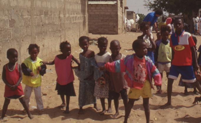Enfant des rues à M'BOUR.
