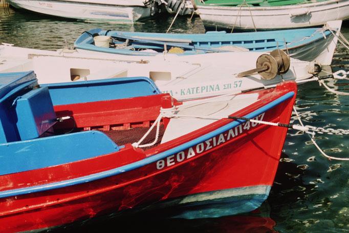 Port de Parros. Les Cyclades. GRECE