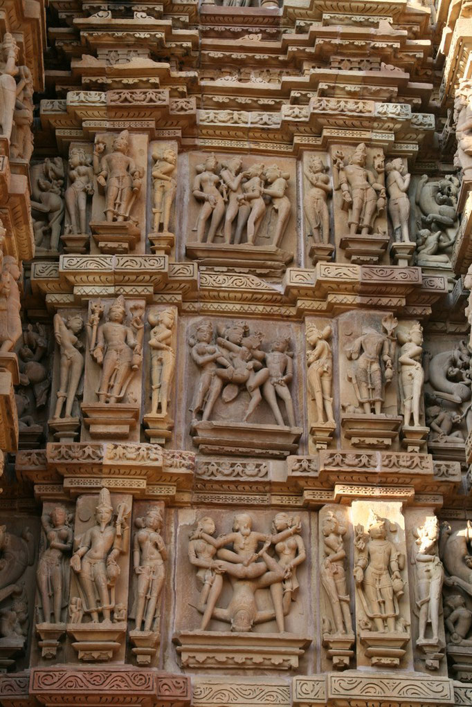 Sculpture de  KHAJURAHO.
