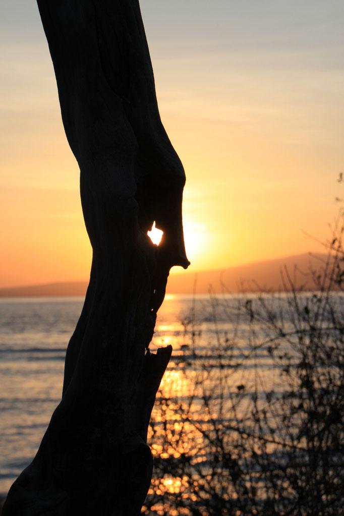 Levée du soleil à GILI AIR.