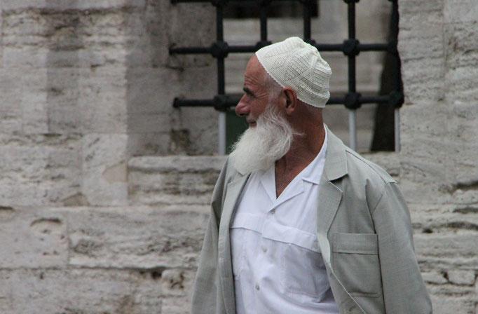 Près de la mosquée AYASOFYA.