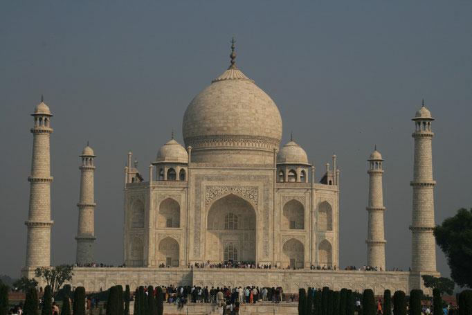 Le Tah Mahal, symbole de l'Inde. AGGRA.