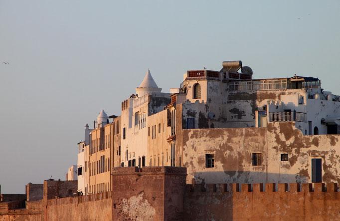 La forteresse d'ESSAOUIRA.