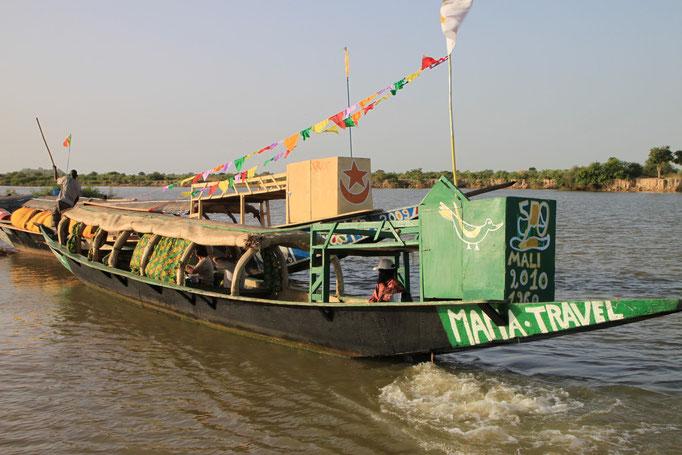 Sur les rives du Niger vers MOPTI.