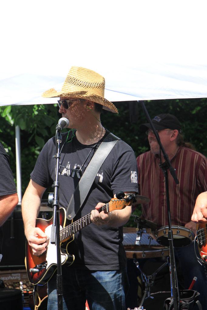 Musique à Cental Parc.