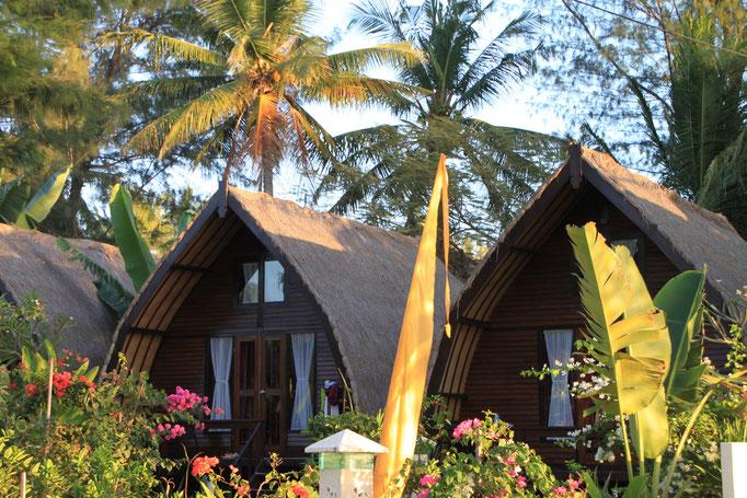 Maison Sasak sur l'île de LOMBOK.