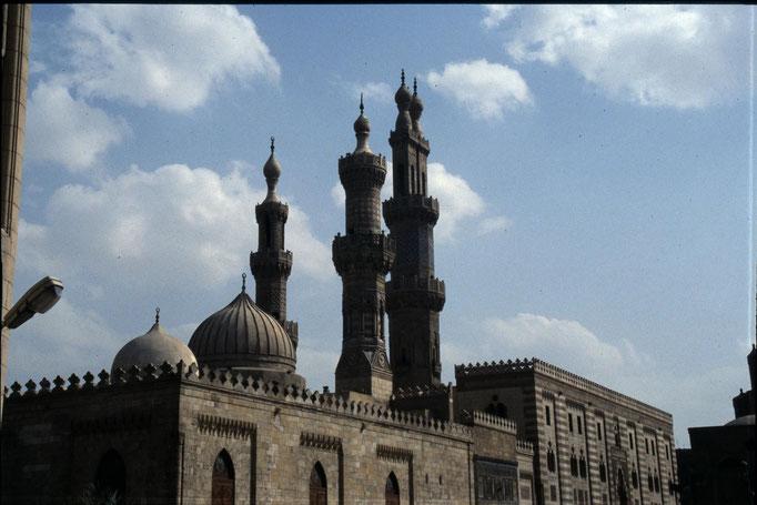 La mosquée Al-Azhar au CAIRE.