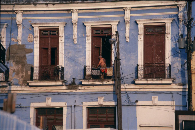 Dans les rues de SANTA CLARA.