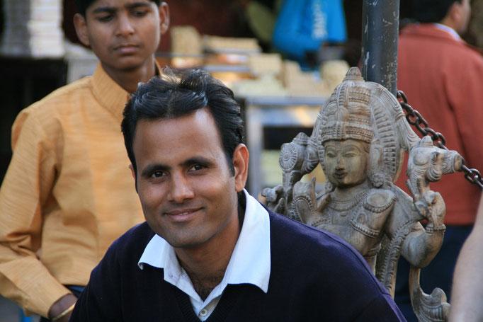 Amith notre guide à AGRA.
