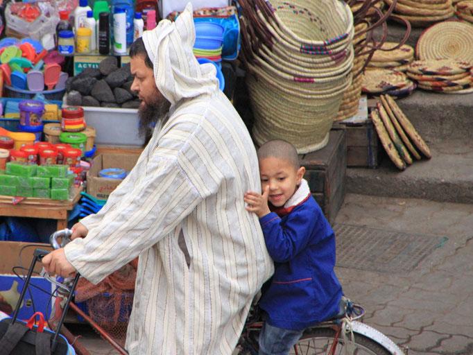 Dans le marché d'ESSAOUIRA / 2011.