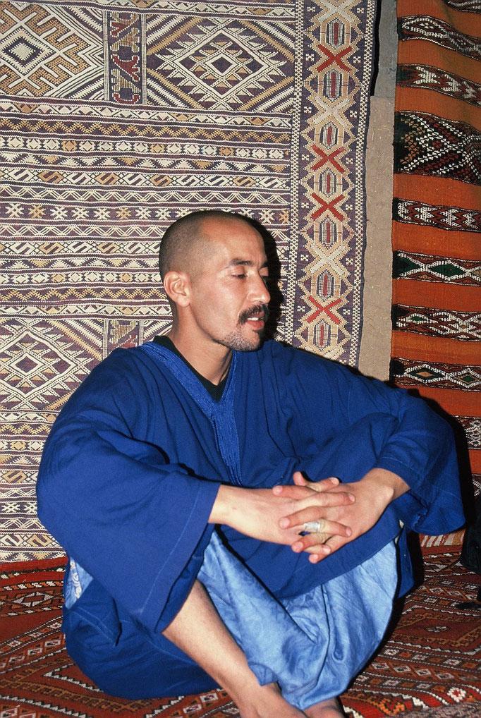 Dans la vallée du DRÂA au Sud Marocain 2005.