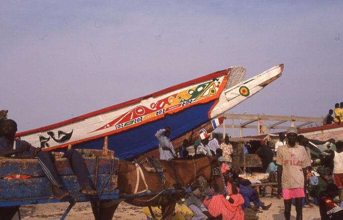Chantier naval des sunu gaal à M'BOUR.