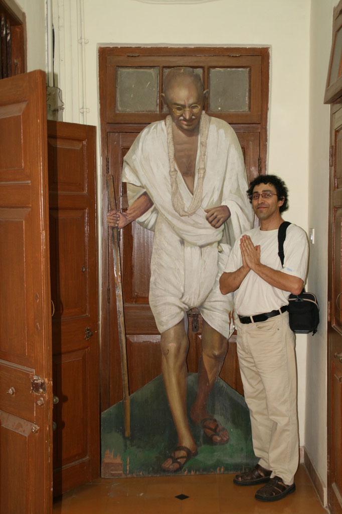 Musée Gandhi à Mumbaï. INDE DU NORD.