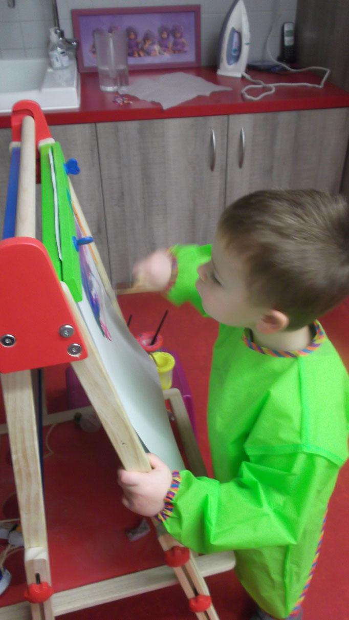 Les petits artistes à l'Escapade