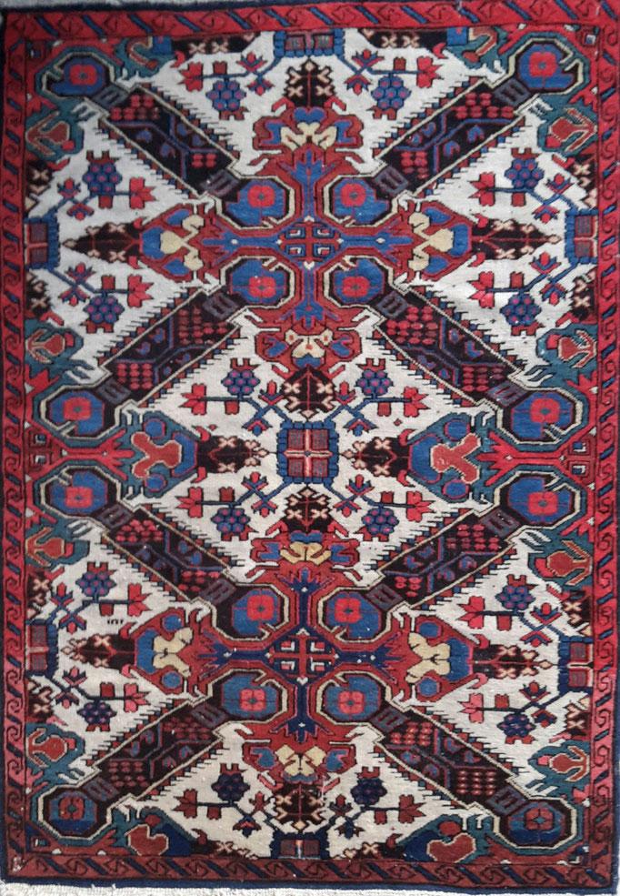 Kaukasischer Läufer, Seichur, 19. Jhdt., 91 x 135 cm