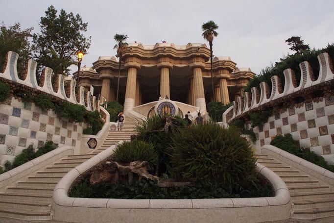 バルセロナ最後の日はグエル公園へお出かけ