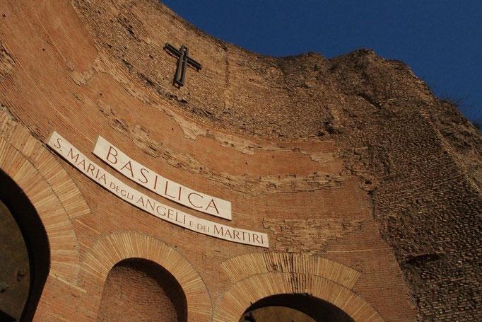 サンタマリアデッリアンジェリ教会へ寄り道を