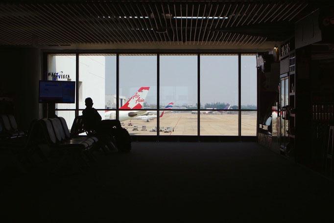 この後 久しぶりの飛行機でミャンマーへ 飛行機に乗るのは いつもわくわくする✈︎