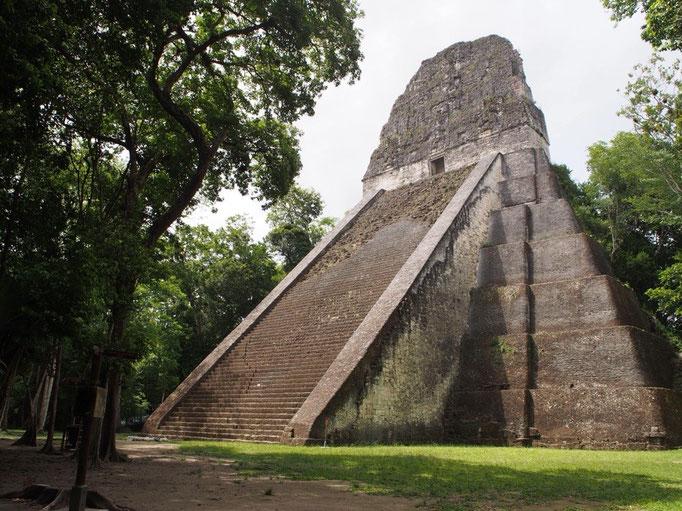 カンクンからバスに乗りフローレスに到着 フローレスからマヤ文明最大の神殿都市遺跡ティカル遺跡へ