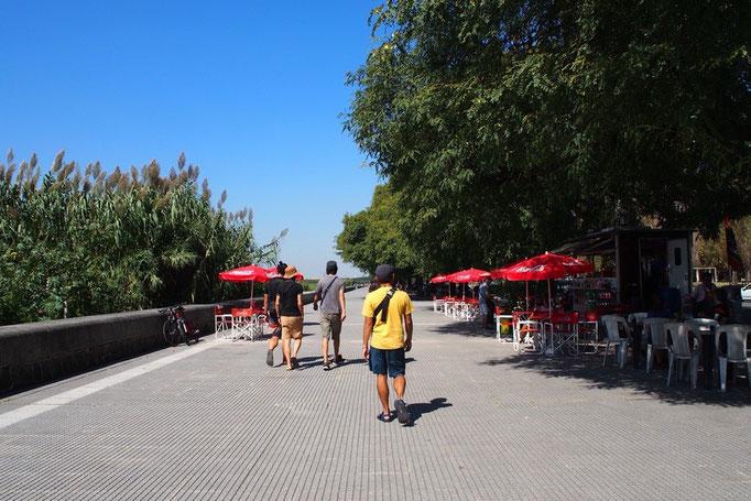"""ブエノスアイレスに来たらチョリパン! ということで""""チョリパンストリート(←勝手に命名(笑))""""にお出かけ"""