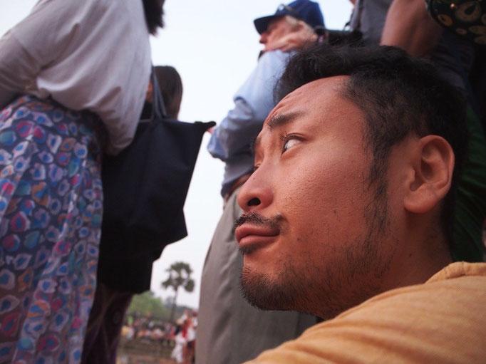 朝日のpicはゆったりとした空気感ですが 撮っている時はこんな感じで 周りには人がたくさん!