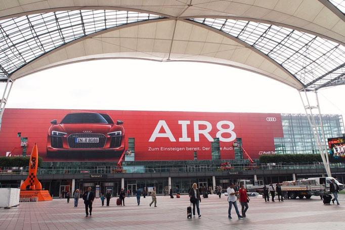 """ミュンヘン空港は南ドイツの玄関口であり """"欧州一の空港""""に選ばれたこともあるくらい見どころたくさん"""