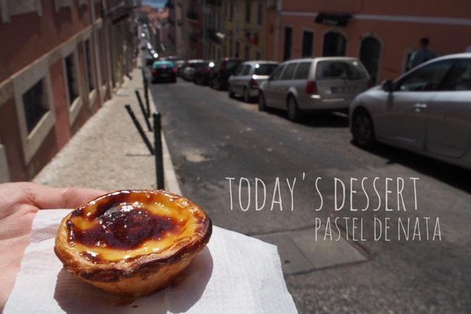 """エッグタルトは実はポルトガルが発祥地 ポルトガルでは""""パステル デ ナタ""""と呼ばれています"""