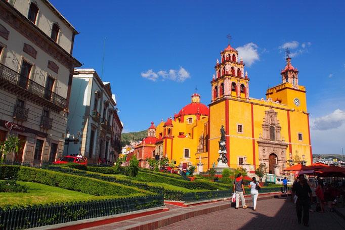 メキシコシティからバスに乗ってグアナファトへ