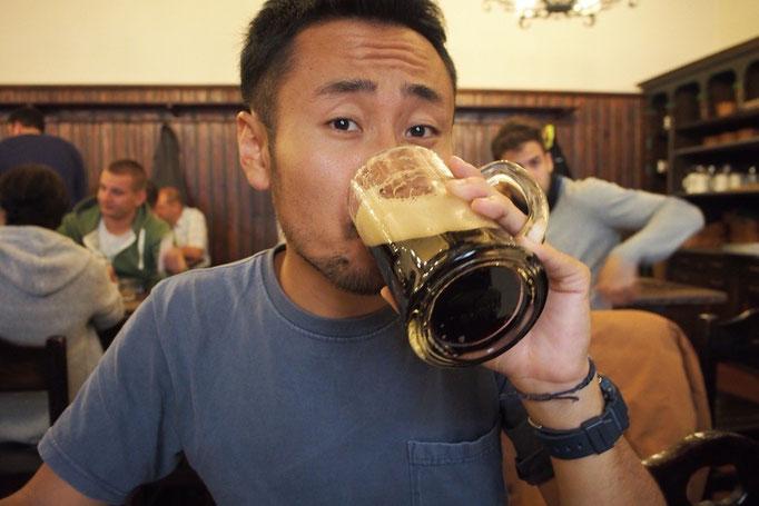 プラハに戻ったあとは チェコビールの飲み納めに