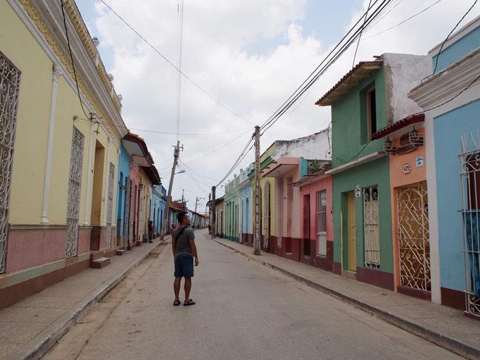 バラデロからバスに乗りトリニダーへ トリニダーも町並みが世界遺産の町
