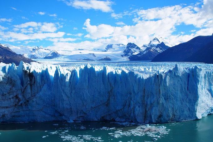 氷河! どどーん!