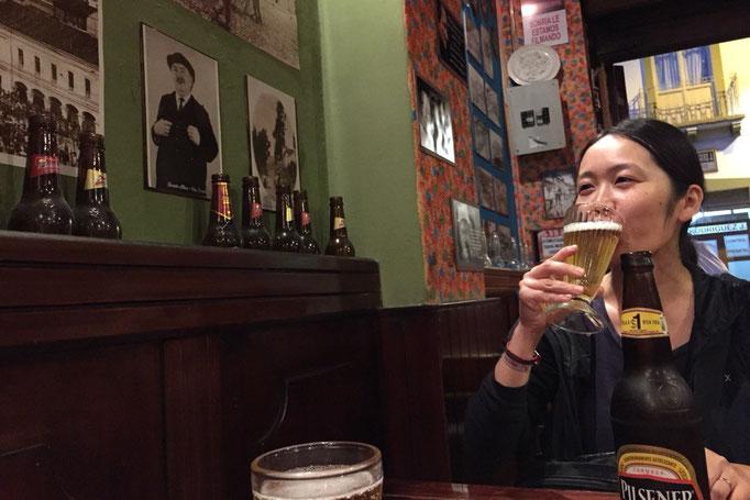ビールによく合う味 思わずにんまり顔に♡