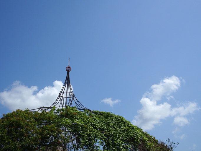 トリニダーの町はとても暑くて...お散歩をしていても1-2時間しか体力が持たないくらい