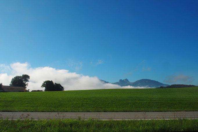 フュッセンからミュンヘンへの帰り道 フュッセンで3泊のんびり過ごしてリフレッシュできました