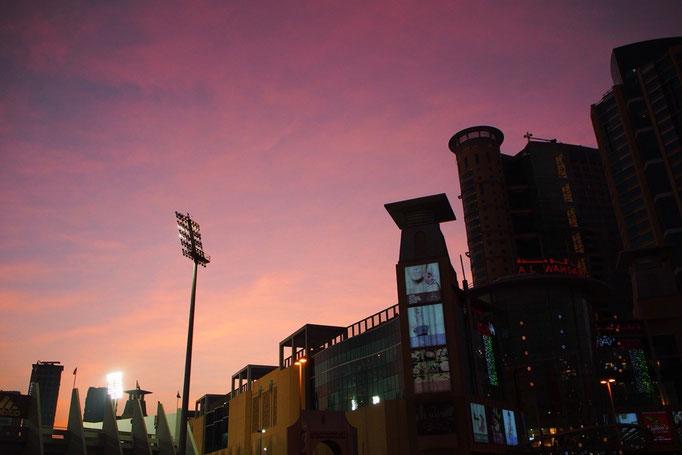 バスターミナルへ着く頃には あたりはすっかり夕暮れ色。最後まで素敵な景色を見せてもらえました。